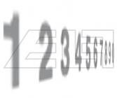 Fahrzeug Nummern