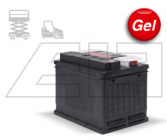 Semi-Traktion Batterien Gel