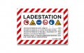 "Aufkleber ""Ladestation"" A7"