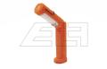 Magnet-Handlampe orange