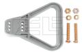 Griff SR/SBX 175 & SBE 160  grau; gewinkelt mit 2 Schrauben M6 x