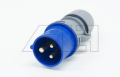 Stecker 16A 3Pol/steckbar